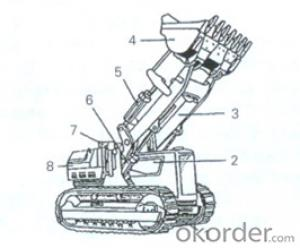 CMAX  - WHEEL  LOADER SERIE - 417 MODEL,High back-off brakes