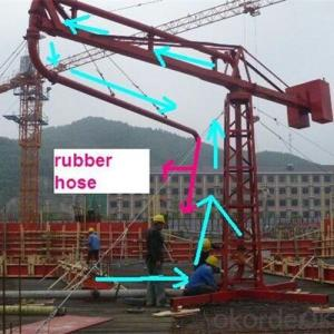 12m 15m 18m Manual Type Concrete Placing Boom