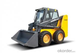 LONKING Brand Skid Steer Loader CDM308(2)  with 810Kg Rated Load