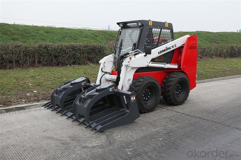 LONKING Brand Skid Steer Loader CDM307(2)  with 760Kg Rated Load