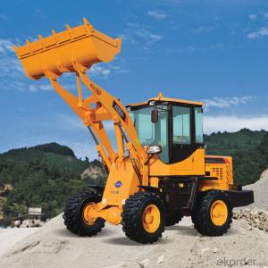 construction machine Haihong CTX918 wheel loader, cheap wheel loader