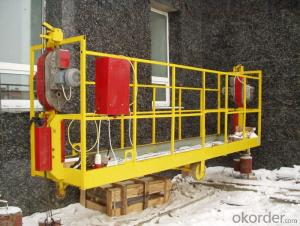 Safe Working Suspended Platform CradleZLP1000 2.5m*3 1000 kg