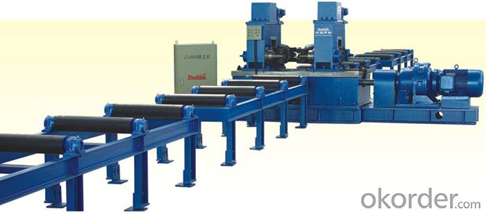 SP- H Beam Wing Edge Straightening Machine