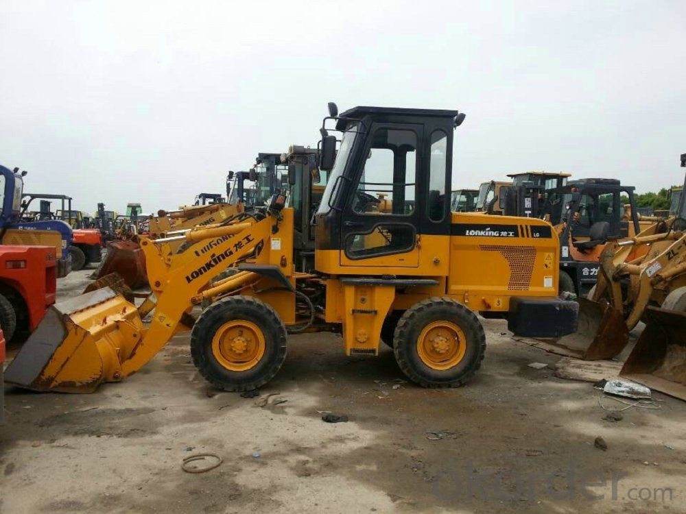 LONKING Brand Wheel Loader CDM816D with 0.95CBM Bucket