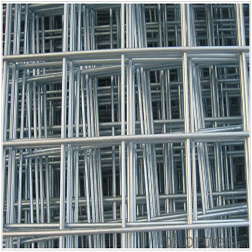 Reinforced Welded Mesh Panel for Building Materials with Corrosion Resistance
