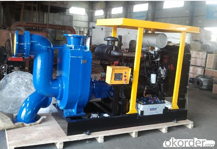 Hot Oil Circulation Pump for Food Industry