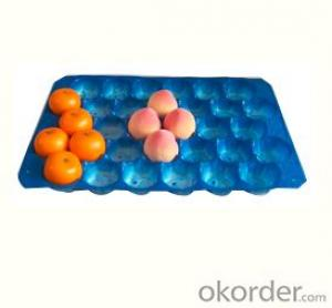 Plastic Stackable Fruit Tray Packing for sales