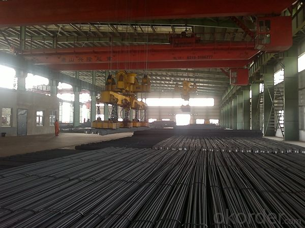 Mild Hot Rolled Deformed Steel Rebars for Construction