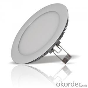 LED Mini Panel Light Round Shape 18W Aluminum/ABS