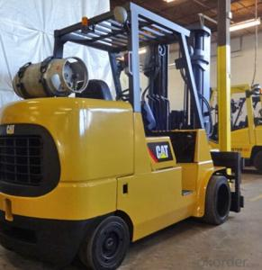 gas cushion tire lift truck,3000-6500 LB capacity LP