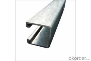Strut Steel Perforated or Plain Type with Good Quality