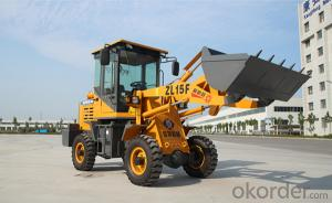 New product ZL15Fwheel loader made in China construction machine for sale with ce low price