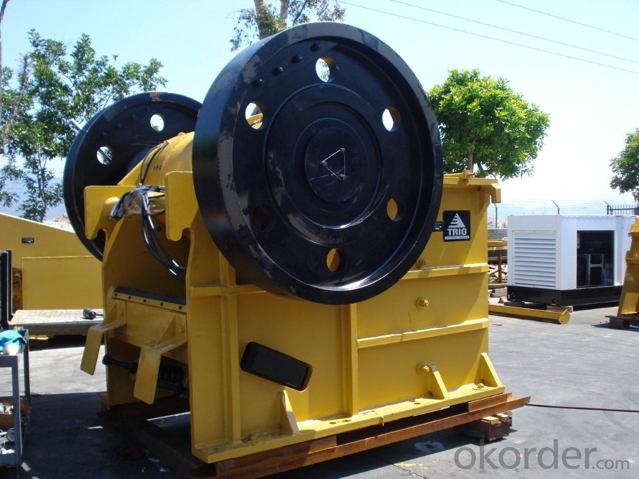 high efficiency jaw crusher used for mineral PE 900*1200