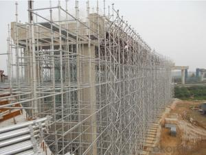 Ringlock Scaffolding System with the Finish of Hot Galvanized