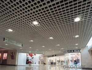 Aluminum Ceiling Panel for Supermarkets and Offices