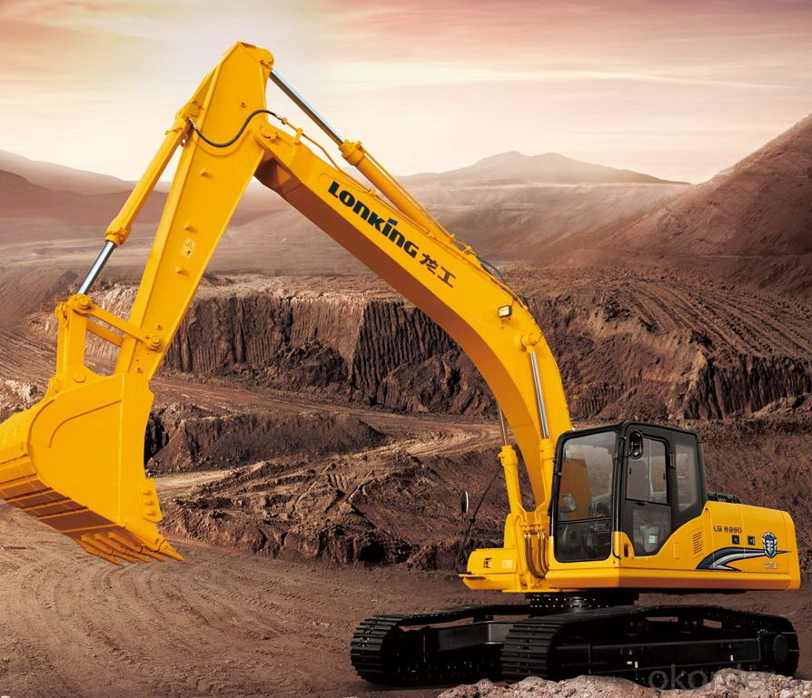 LONKING Brand Hydraulic Excavator CDM6225