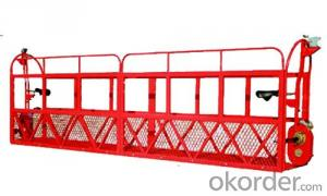 Manual Aerial Work Platform SJY 0.3  for 3000 / 6000 / 9000 / 12000 mm