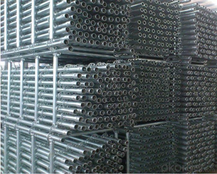 Hot Galvanized Ringlock Scaffolding System