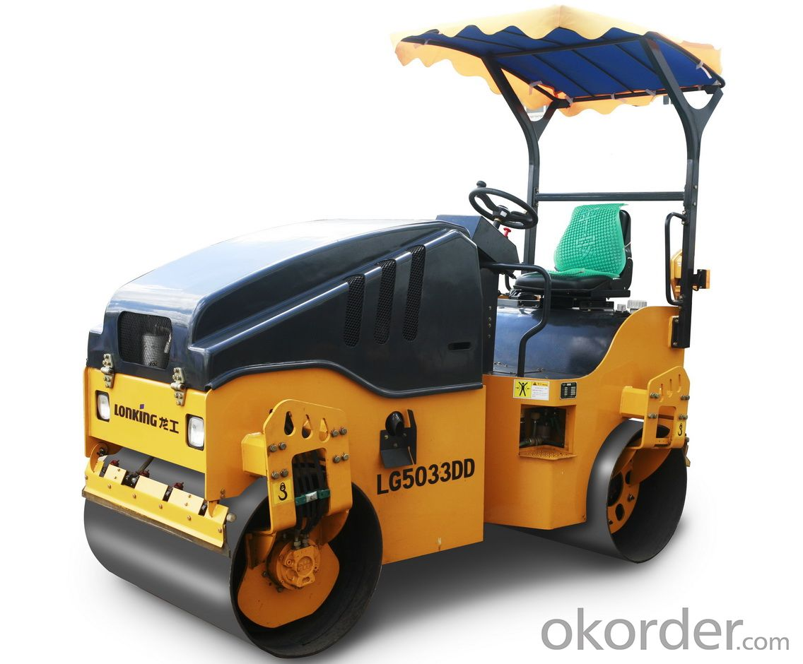 LONKING Brand Single Drum Road Roller CDM518D