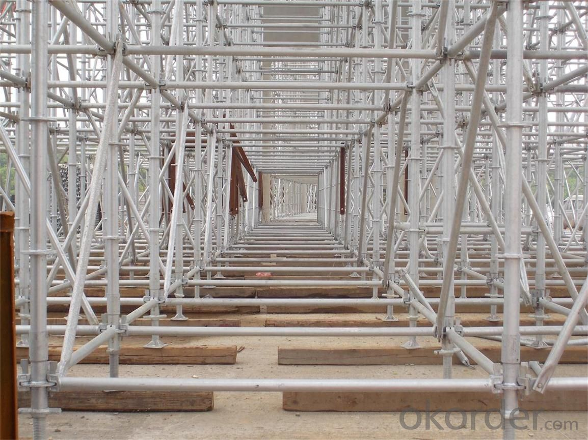 Ringlock Scaffolding For Easy  Install for Construction