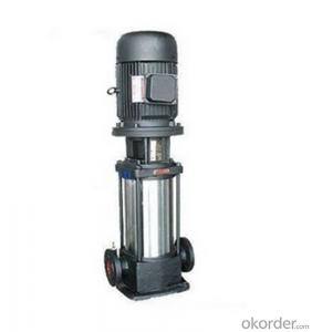 Multistage Stainless Steel Centrifugal Pump