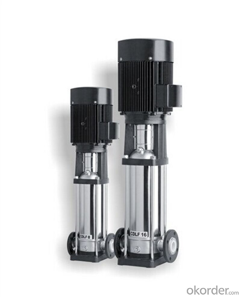Vertical Multistage Stainless Steel Centrifugal Pumps