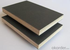 Film Faced Plywood 18mm Poplar waterproof Phenolic Brown