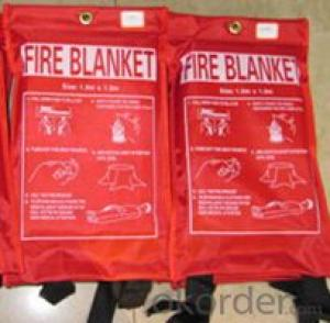 Fire Blanket Fiberglass Mesh Soft High Quality