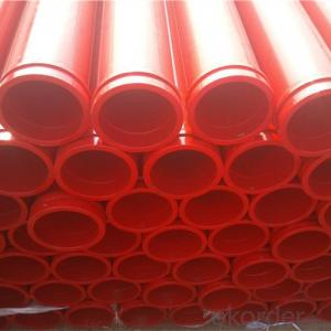 3M 20# Steel Delivery Pipe for Concrete Pump