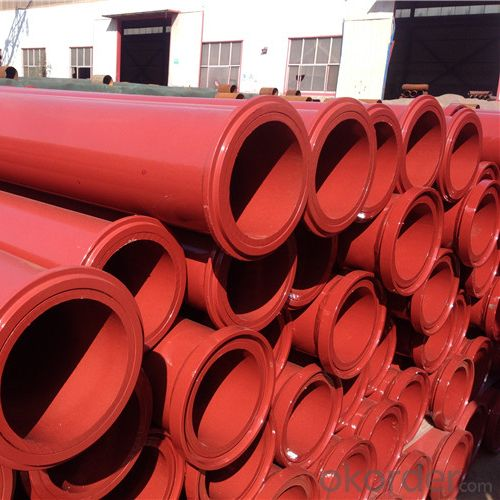 3M Seamless Delivery Pipe for Concrete Pump Thickness 4.0mm