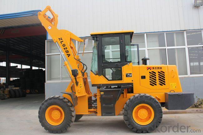 ZL30G wheel loader /ZL938 front end wheel loader with pallet fork