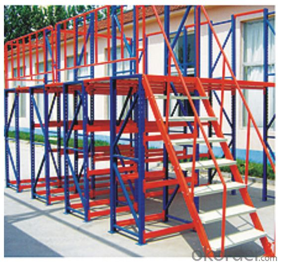Mezzanine - Type Racking Shelving Systems