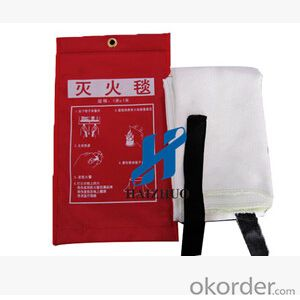 Fire Blanket of High Quality Fiberglass Material