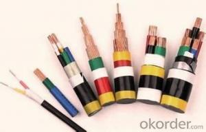 various types of pvc insulation power cable
