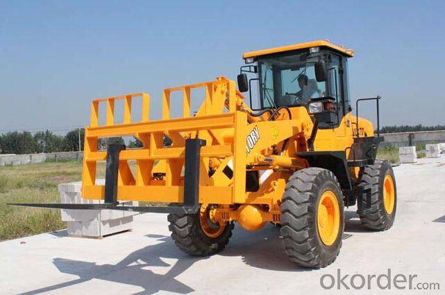 ZL30F wheel loader loader with CE /3 ton wheel loader with ROP&FOPS' cab