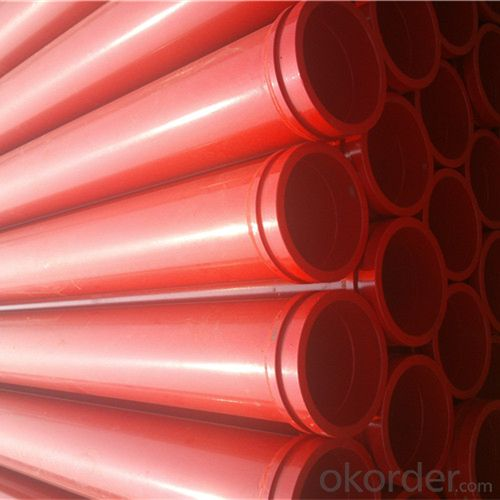 3M Seamless Delivery Pipe for Concrete Pump Thickness 5.5mm