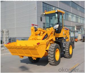 1500kg Articulated Front End Wheel Loader