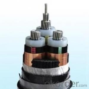 HV 26/35kV COPPER CONDUCTOR XLPE INSULATED STEEL WIRE ARMORED SWA POWER CABLE