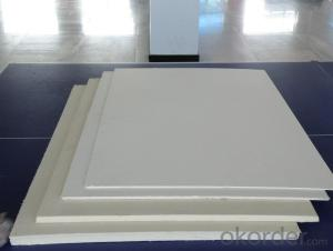 High density  insulation refractory ceramic fiber board