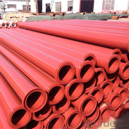 3M Seamless Delivery Pipe for Concrete Pump Thickness 5.2mm