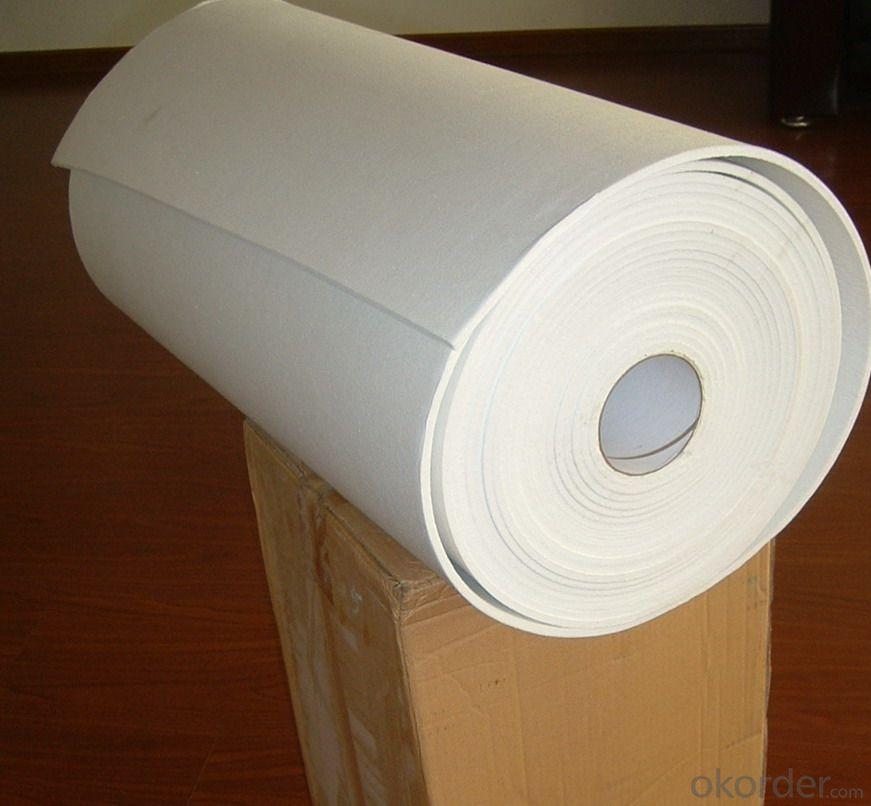 Furnace and oven heat resistant ceramic fiber blanket/ceramic fiber mat