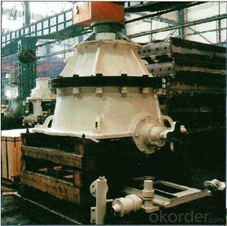 Cone crusher used on mining, metallury and cement plant