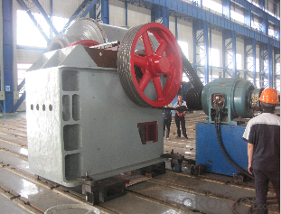 Jaw crushers used on mining, metallery and cement plant