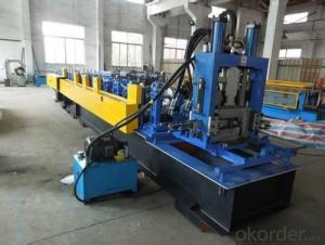 C Shape Steel Cold Roll Forming Machines