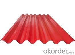 Prepainted Galvanized Corrugated Steel plate :roofing sheet