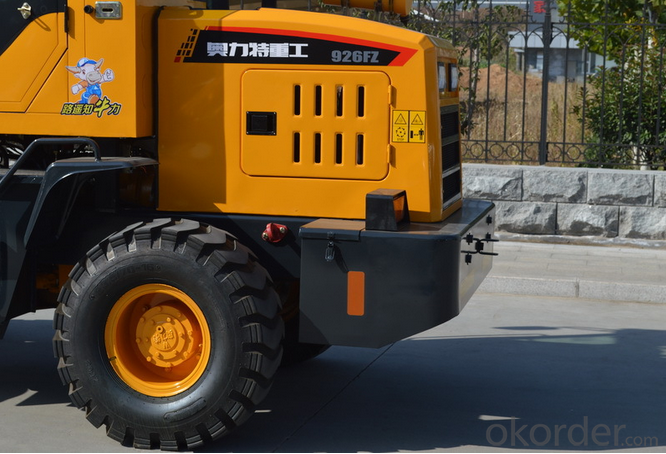 926F 1.2 Ton Compact Loader for hot sale Chinese Brand