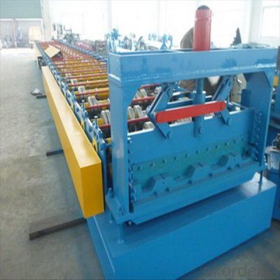 Steel Deck Floor Cold Roll Forming Machine