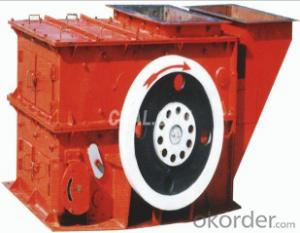 Ring hammer crusher used on mining, metallurgy and cement plant