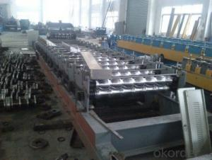 Metal Tile Cold Roll Forming Machines