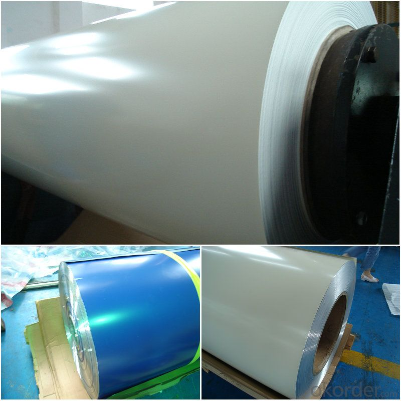 Aluminum PVDF solid color coated Coil Rolls